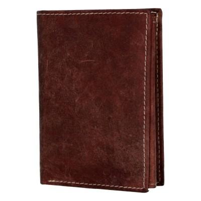 Pánská kožená peněženka Diviley Biblo hnědá