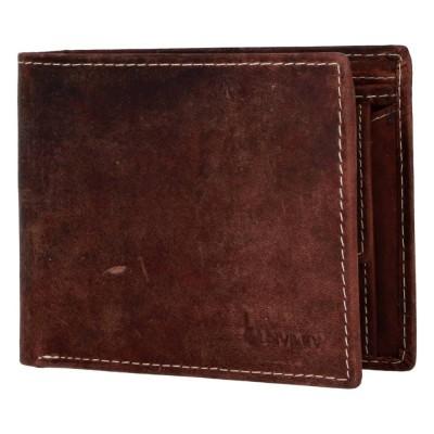 Pánská kožená peněženka Diviley Boho hnědá