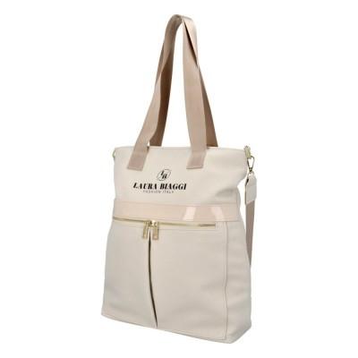 Dámska trendy kabelka Laura Biaggi Italy fashion lady béžová