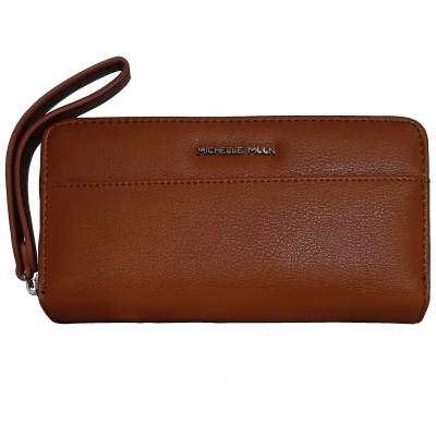 Dámska kožená peňaženka Michelle Moon 5028 hnedá