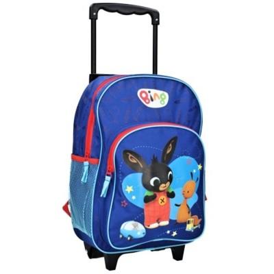 Detský cestovný batôžtek na kolieskach Králíček BING