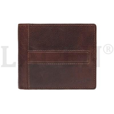Pánska kožená peňaženka LAGEN 10210 hnedá