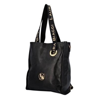 Dámska štýlová kabelka Laura Biaggi Julia čierna