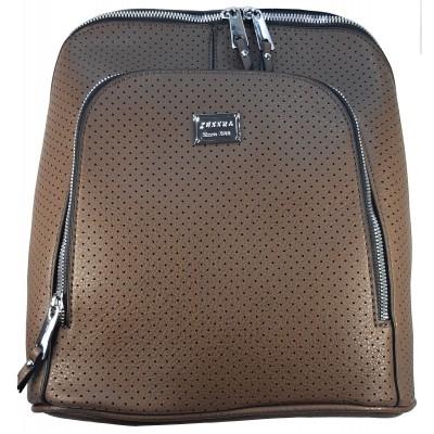 Dámsky štýlový batôžtek TESSRA 4924 hnedý