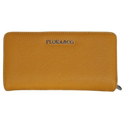 Dámska peňaženka Flora & Co žltá