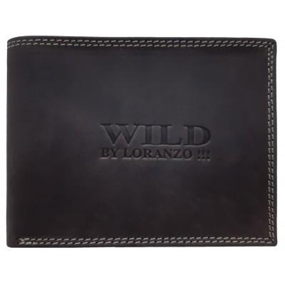 Pánská kožená peněženka WILD hnědá