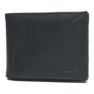 Pánska kožená peňaženka LAGEN 7175 čierna