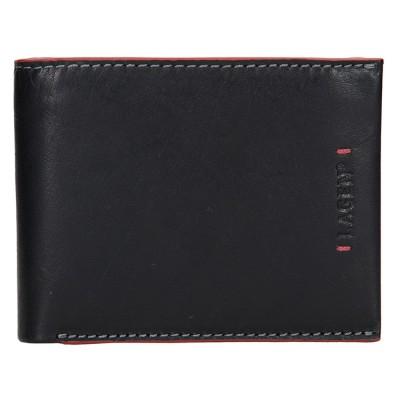 Pánska kožená peňaženka LAGEN 3981 čierna
