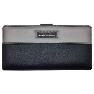 Dámska kožená peňaženka dudlin čierna