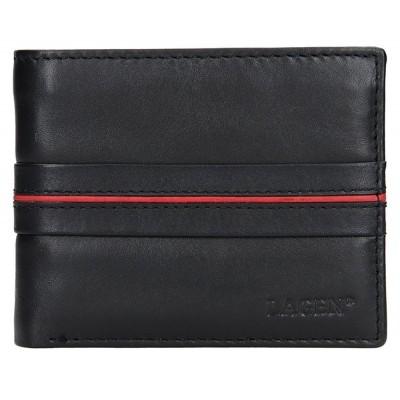 Pánska kožená peňaženka LAGEN 3905 čierna
