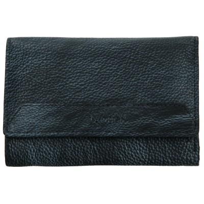 Dámska kožená peňaženka LAGEN LG 11 šedomodrá