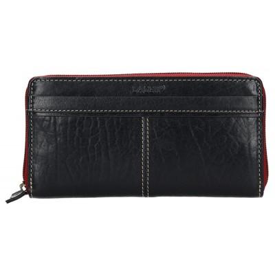 Dámska kožená peňaženka LAGEN 26512 čierna
