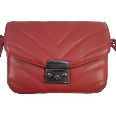 Dámska štýlová kabelka Elysse 98192 červená