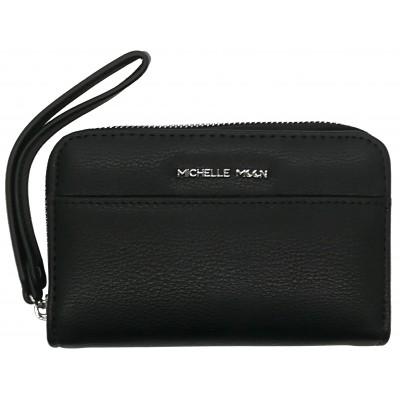 Dámska kožená peňaženka Michelle Moon 5029 čierna