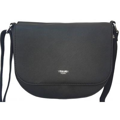 Dámska štýlová kabelka TESSRA 4158 čierna