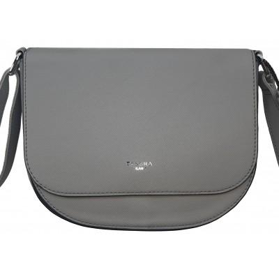 Dámska štýlová kabelka TESSRA 4158 šedá