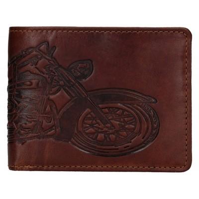 Pánska kožená peňaženka LAGEN 6535 hnedá