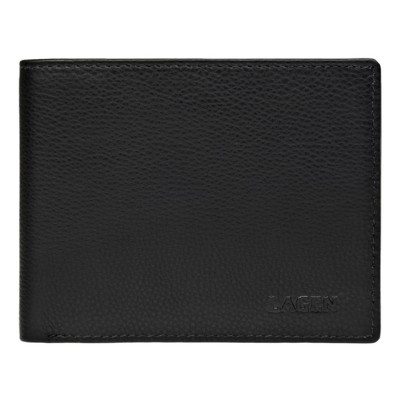 Pánska kožená peňaženka LAGEN C22 čierna