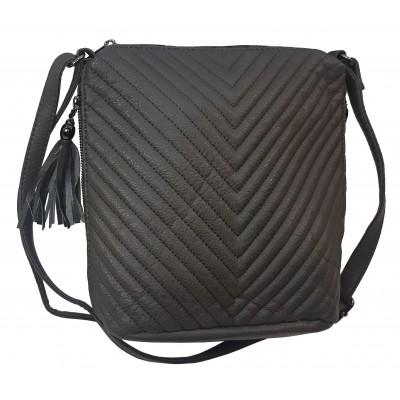 Dámska crossbody kabelka G&T 34105 šedá