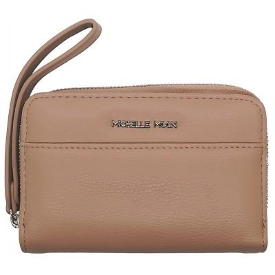 Dámská kožená peněženka Michelle Moon 5029 tmavě růžová