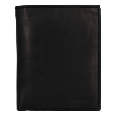 Pánska kožená peňaženka Diviley 3201 čierna