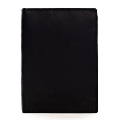 Pánska kožená peňaženka Diviley Will čierna